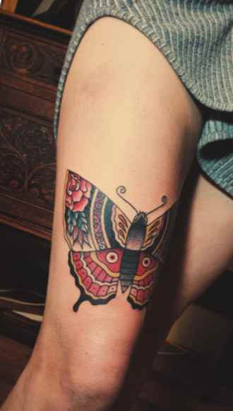 Ulysses butterfly tattoo design